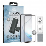 Eiger 3D Glass Edge to Edge Full Screen Tempered Glass for Samsung Galaxy Note 10 Lite (black-clear)