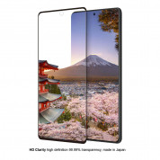Eiger 3D Glass Edge to Edge Full Screen Tempered Glass for Samsung Galaxy Note 10 Lite (black-clear) 3