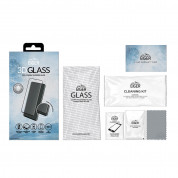 Eiger 3D Glass Edge to Edge Full Screen Tempered Glass for Samsung Galaxy A71 (black-clear) 1