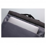 Winking Plain Backpack - елегантна и качествена раница за лаптопи до 15.6 инча (сив) 6