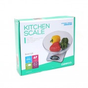 Omega Kitchen Scale With Bow (silver)