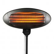 Platinet Quartz Patio Heater 2000W IP34 Adjustable Height - кварцова лампа с инфрачервен нагревател (черен) 1