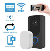 Platinet Video Smart Doorbell Wi-Fi Camera 1080p Wireless Chime - безжичен звънец с Wi-Fi камера  2