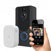 Platinet Video Smart Doorbell Wi-Fi Camera 1080p Wireless Chime - безжичен звънец с Wi-Fi камера