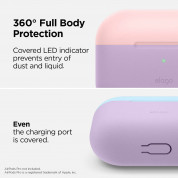 Elago Duo Silicone Case for Apple Airpods Pro (lavender) 3