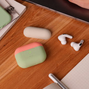 Elago Duo Silicone Case for Apple Airpods Pro (pastel green) 2