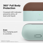 Elago Duo Hang Silicone Case for Apple Airpods Pro (mint) 3