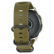 Urban Armor Gear Active Nato Strap for Samsung Galaxy Watch 46 mm (olive drab) 4