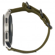 Urban Armor Gear Active Nato Strap for Samsung Galaxy Watch 46 mm (olive drab) 3