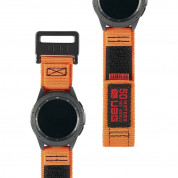 Urban Armor Gear Active Watch Strap for Samsung Galaxy Watch 46 mm (orange)