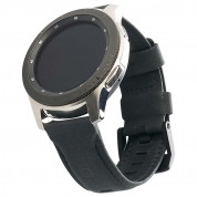 Urban Armor Gear Leather Strap for Samsung Galaxy Watch 46mm (black) 4