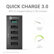 Green Cell 5 USB Quick Charger (black) 1