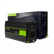 Green Cell Car Power Inverter 12V to 230V 500W/1000W - инвертор за кола