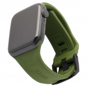 Urban Armor Gear Scout Strap - изключително здрава силиконова каишка за Apple Watch 42мм, 44мм (зелен)