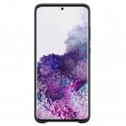 Samsung Leather Cover EF-VG985LBEGEU - оригинален кожен калъф (естествена кожа) за Samsung Galaxy S20 Plus (черен) 2
