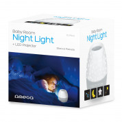 Omega LED Projector Night Light (blue) 1