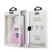 Karl Lagerfeld Iconic Gradient Case - дизайнерски кейс с висока защита за Samsung Galaxy S20 (розов) 6