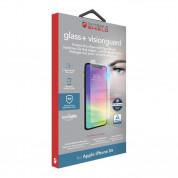Zagg Invisible Shield Glass+ VisionGuard - калено стъклено защитно покритие за дисплея на iPhone 11, iPhone XR (прозрачен)