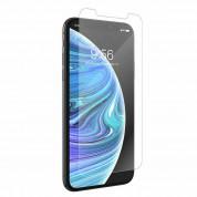 Zagg Invisible Shield Glass+ VisionGuard - калено стъклено защитно покритие за дисплея на iPhone 11 Pro, iPhone XS, iPhone X (прозрачен) 1