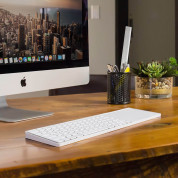 TwelveSouth MagicBridge - основа (мост) за свързване на Apple Wireless Keyboard и Apple Magic Trackpad 2 (бял) 3