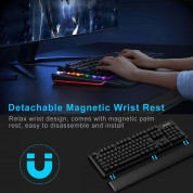 TeckNet Kumara EMK01027BK01 LED Illuminated Mechanical Gaming Keyboard - механична геймърска клавиатура с LED подсветка (за PC) 3