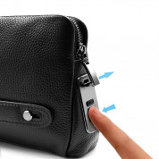 Fipilock Fingerprint Mens-Handbag (black) 3