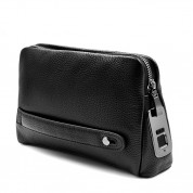 Fipilock Fingerprint Mens-Handbag (black)
