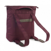 Tucano Piu Shopper Backpack for laptop up to 16inch and MacBook Pro 16 (burgundy) 2