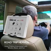 Macally Car Headrest Strap Tablet Holder 3