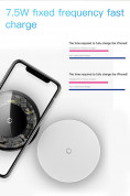 Baseus Simple Wireless Charger CCALL-JK02 (white) 6