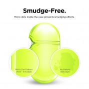 Elago Airpods Pro TPU Hang Case - силиконов калъф с карабинер за Apple Airpods Pro (жълт-фосфор) 4