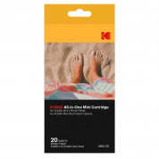 Kodak 2.1x3.4 Inch Dye-Sub Paper - 20 pack for Mini 2 printer and Mini Shot camera