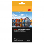 Kodak 2.1x3.4 Inch Dye-Sub Paper - 30 pack for Mini 2 printer and Mini Shot camera