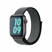 Apple Watch Nike Band Sport Loop - оригинална текстилна каишка за Apple Watch 38мм, 40мм (лилав-зелен) 1