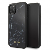 Guess Marble Hard Case for iPhone 11 Pro (black)