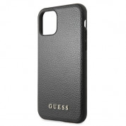 Guess Iridescent Leather Hard Case for iPhone 11 Pro Max (black) 4