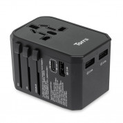 Torrii TorriiBolt USB PD and QC 3.0 45W Universal Travel Adapter II (black) 1