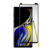 Gadget Guard Curved Tempered Glass Black Ice Cornice Edition for Samsung Galaxy Note 9 (black-clear)
