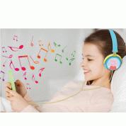 Lexibook Peppa Pig Georges Stereo headphones - слушалки подходящи за деца за мобилни устройства (син-жълт) 3