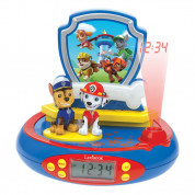 Lexibook Paw Patrol Projector Alarm Clock with Radio - детски часовник с аларма и FM радио (шарен)