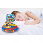 Lexibook Paw Patrol Projector Alarm Clock with Radio - детски часовник с аларма и FM радио (шарен) 3