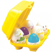 Tomy Hide N Squeak Eggs (yellow)