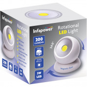 Infapower 360 Degrees Rotational LED Light 1