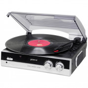 Groov-e Vintage Vinyl Record Player (black)