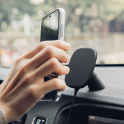 Moshi SnapTo Car Mount with Wireless Charging (black) 4