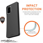 Urban Armor Gear Biodegradeable Outback Case for Samsung Galaxy S20 Plus (black) 5