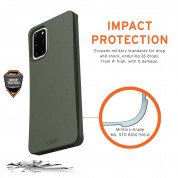 Urban Armor Gear Biodegradeable Outback Case for Samsung Galaxy S20 Plus (olive) 5