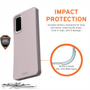 Urban Armor Gear Biodegradeable Outback Case for Samsung Galaxy S20 (lilac) 5