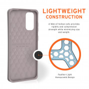 Urban Armor Gear Biodegradeable Outback Case for Samsung Galaxy S20 (lilac) 6