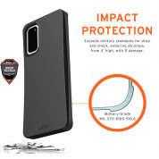 Urban Armor Gear Biodegradeable Outback Case for Samsung Galaxy S20 (black) 5